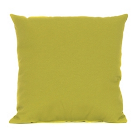 Green Outdoor Accent Pillow, 18 in.