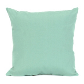 Aqua Outdoor Accent Pillow, 18 in.