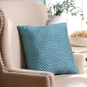 Blue Zoe Pillow