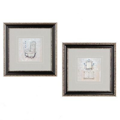 Antique Bath Framed Art Print