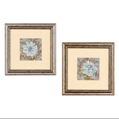 Simple Florals Framed Art Print