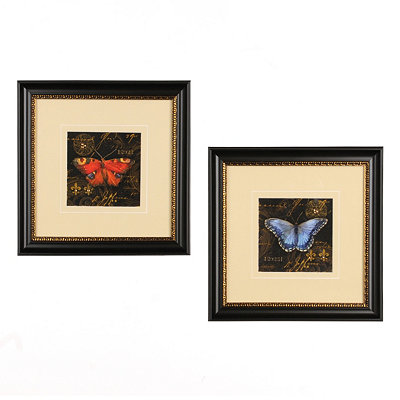 Bravado Butterflies Framed Art Print