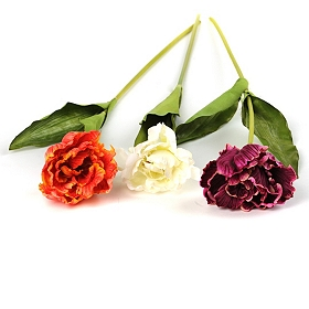 Ruffle Tulip Stems, 28 in.