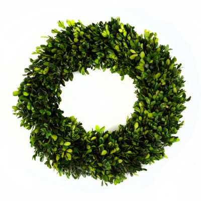Preserved Boxwood Wreath, 16 in.