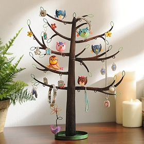 Owl Tree Jewelry Organizer