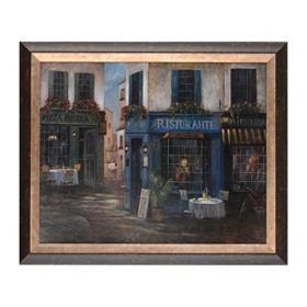 Italian Street Scene I Framed Art Print