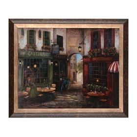 Italian Street Scene II Framed Art Print