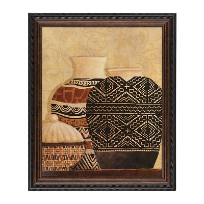 Global Vessels II Framed Art Print