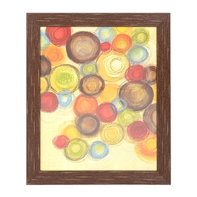 Wednesday Whimsy II Small Framed Art Print