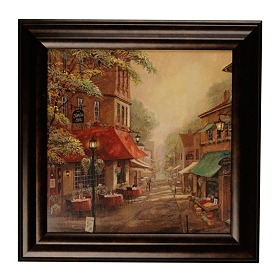 Charlie's Cafe Framed Art Print