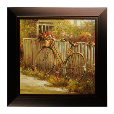 Bicycle Journey II Framed Art Print