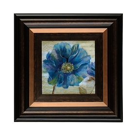 Blue Poppies I Framed Art Print