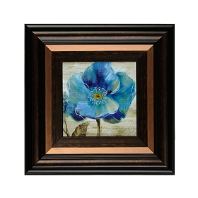 Blue Poppies II Framed Art Print