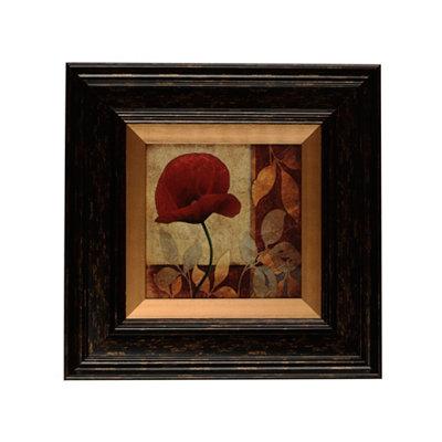 Red Poppy Patch I Framed Art Print