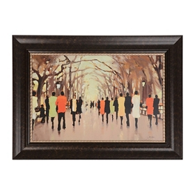 Poet's Walk Framed Art Print