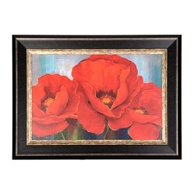 Magnifique en Rouge Framed Art Print