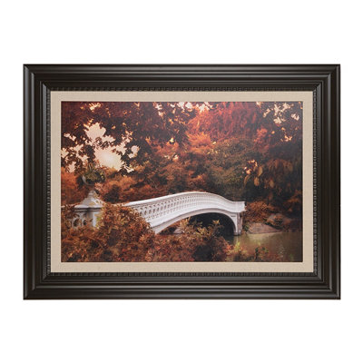 Bow Bridge Framed Art Print