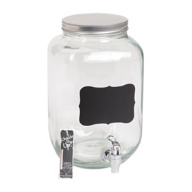 Chalkboard Beverage Dispenser, 2-Gallon
