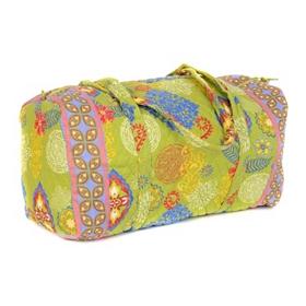 Lime Green Large Duffel Bag