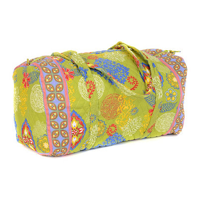Lime Green Large Duffel Bag