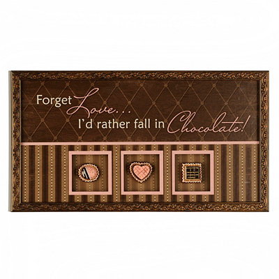 Chocolate Lover's Shadowbox