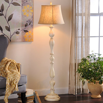 Cream Bella Floor Lamp