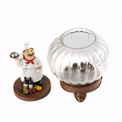 Chef Glass Jar
