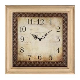 Ansley Cream Square Clock