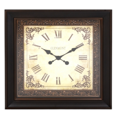 Antique Scroll Clock