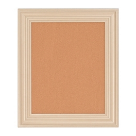 Cream Frame Cork Board