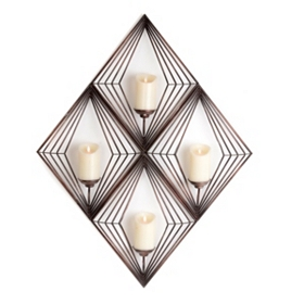 Diamond Cage Sconce