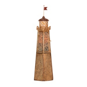 Lighthouse Pillar Candle Holder
