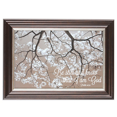 Still Blossoms Framed Art Print