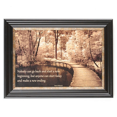 New Ending Framed Art Print
