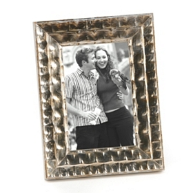 Antiqued Champagne Picture Frame, 4x6
