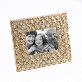 Antique Tiles Champagne Picture Frame, 4x6