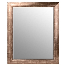 Beveled Antique Silver Framed Mirror