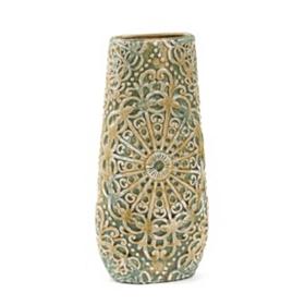 Ceramic Jade Lacework Vase