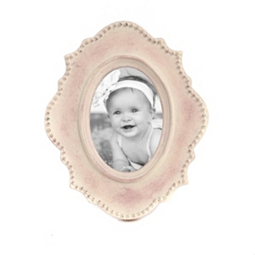 Beaded Border Picture Frame, 2.5x3.5