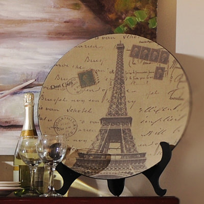 Eiffel Tower Charger with Easel