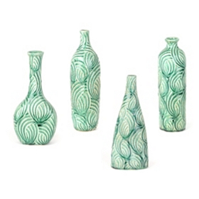 Seafoam Flow Vases