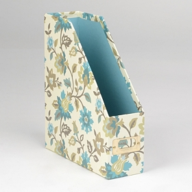 Spa Blue Paper Organizer