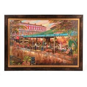 Café du Monde Framed Art Print