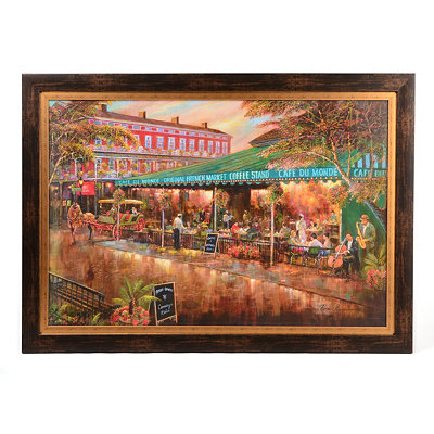 Cafe du Monde Framed Art Print