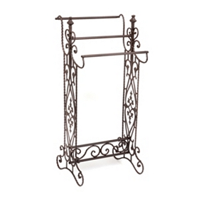 Gentry Narrow Bronze Quilt Rack