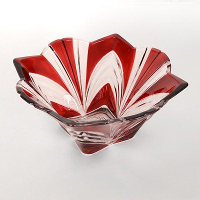 Aurora Ruby Bowl, 11 in.