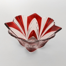 Aurora Ruby Bowl, 8 in.