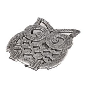 Silver Owl Trivet
