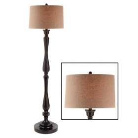 Kennedy Bronze Floor Lamp