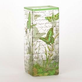 Green Butterfly Vase